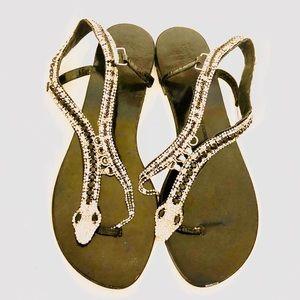 Giuseppe Zanotti embellished sandals.
